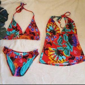 Lucky Brand Bikini and Tankini Large